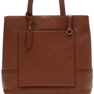 j.crew All-day tote in Roasted chesnut. Like New.
